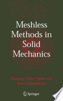 Meshless Methods in Solid Mechanics Book