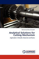 Analytical Solutions for Cutting Mechanism