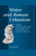 Water and Roman Urbanism