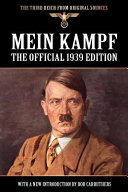 Mein Kampf   the Official 1939 Edition Book