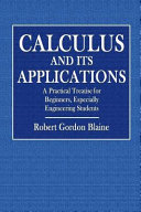 The Calculus and Its Applications