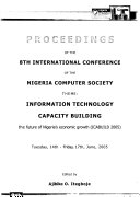 Proceedings of the 8th International Conference of the Nigeria Computer Society