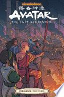 Avatar  the Last Airbender  Imbalance Part Three Book
