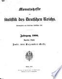 Monatshefte zur Statistik des Deutschen Reichs