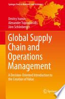 Global Supply Chain And Operations Management Book PDF