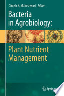 Bacteria in Agrobiology  Plant Nutrient Management Book