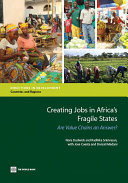 Creating Jobs in Africa s Fragile States