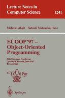 ECOOP  97   Object Oriented Programming