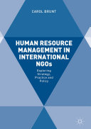 Human Resource Management in International NGOs Pdf/ePub eBook