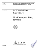 Information Security IRS Electronic Filing Systems