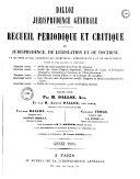 Dalloz, jurisprudence générale