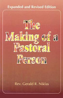 The Making Of A Pastoral Person PDF