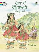 Story of Hawaii Coloring Book