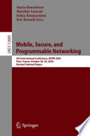 Mobile  Secure  and Programmable Networking Book