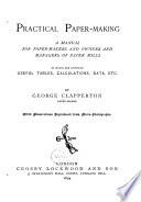 Practical Paper Making