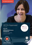 ACCA Options P5 Advanced Performance Management Study Text 2014