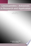 Lincosamides Advances In Research And Application 2012 Edition Book PDF