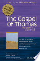 Gospel Of Thomas Annotated And Explained Book