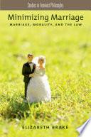 Minimizing Marriage Book PDF