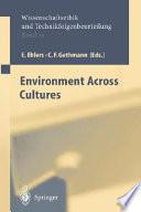 Environment Across Cultures