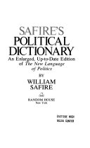 Safire s Political Dictionary Book