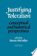 Justifying Toleration