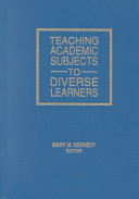 Teaching Academic Subjects to Diverse Learners