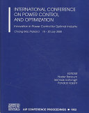 International Conference on Power Control and Optimization