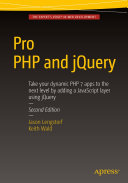 Pro PHP and jQuery Pdf/ePub eBook