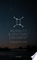 Morality and Epistemic Judgment Book