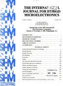 Proceedings of the ... International Microelectronics Symposium