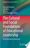 The Cultural And Social Foundations Of Educational Leadership