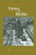 Pdf Views of Berlin Telecharger