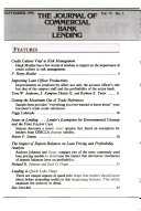 The Journal of Commercial Bank Lending