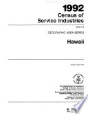 1992 Census of Service Industries