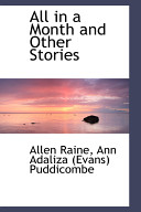 Pdf All in a Month and Other Stories