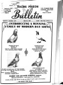 Racing Pigeon Bulletin