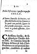 Pdf La Cella interna di S. Caterina da Siena delineata ... con la penna serafica della medesima Santa, per opera di D. Carlo Tomasi, etc. [Selections from the letters.]