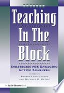 Teaching in the Block