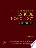 """""""Handbook of Pesticide Toxicology: Principles and Agents"""" by Robert Krieger"""