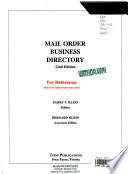 Mail Order Business Directory