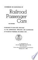 Handbook On Sanitation Of Railroad Passenger Cars