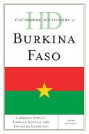 Pdf Historical Dictionary of Burkina Faso Telecharger