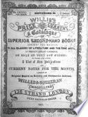 Willis's Price Current
