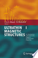 Ultrathin Magnetic Structures I Book