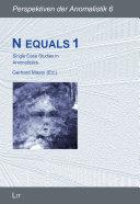 N equals 1