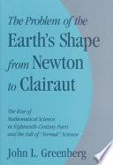 The Problem of the Earth's Shape from Newton to Clairaut Pdf/ePub eBook