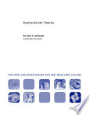 Routine Activity Theories: Oxford Bibliographies Online Research Guide