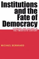 Pdf Institutions and the Fate of Democracy
