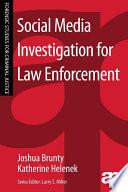 Social Media Investigation for Law Enforcement Book